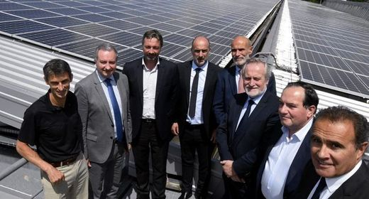 Inauguration Centrale Photovoltaique MIN Toulouse Occitanie